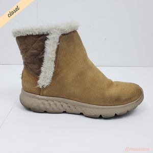 [Skechers] Chestnut On The Go 400 Cozies Booties